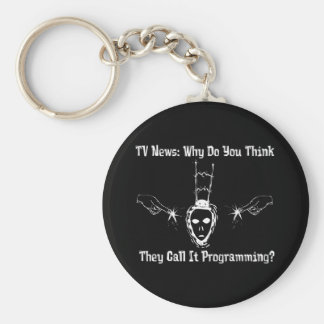 The Daily Lies Keychain