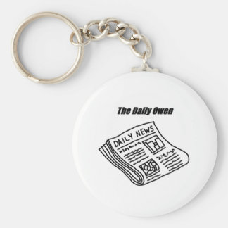 The Daily Owen Keychain