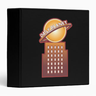 The Daily Planet Vinyl Binder