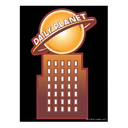 The Daily Planet Postcard