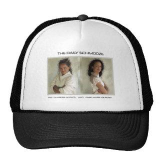 The Daily Schmooze Classic Cap Mesh Hats