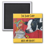 The Dairy Fairy magnet