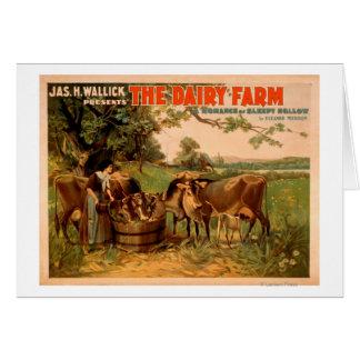 The Dairy Farm a Romance of Sleepy Hollow Play Cards