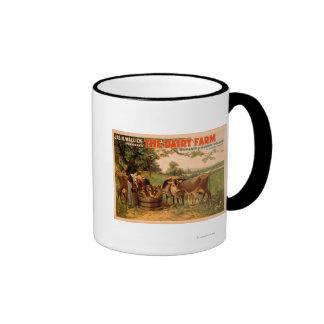 The Dairy Farm a Romance of Sleepy Hollow Play Coffee Mugs