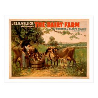 The Dairy Farm a Romance of Sleepy Hollow Play Postcards