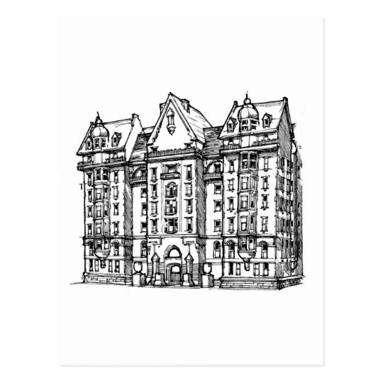 The Dakota Apartments_1.jpg Postcard