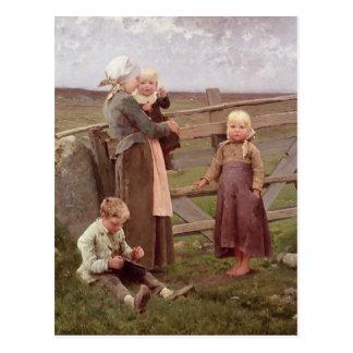 The Dalby Gate, Skane, 1884 Postcard