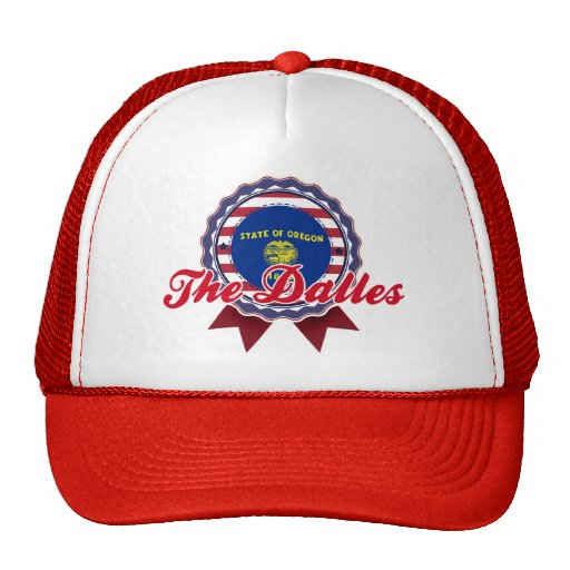 The Dalles, OR Mesh Hat