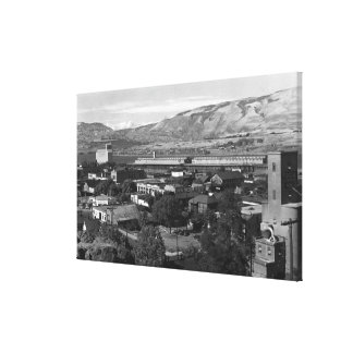 The Dalles, Oregon Dock View from 4th Street Canvas Print