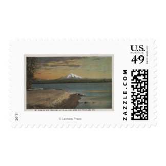 The Dalles, Oregon - Mt. Hood from Columbia Rive Stamps