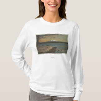 The Dalles, Oregon - Mt. Hood from Columbia Rive T-Shirt