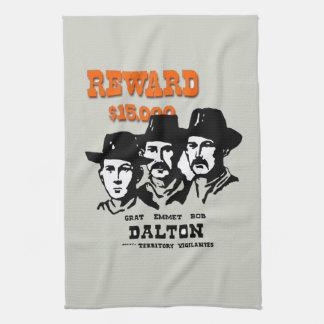 The Dalton Gang Hand Towels