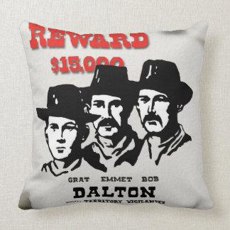 The Dalton Gang Throw Pillows