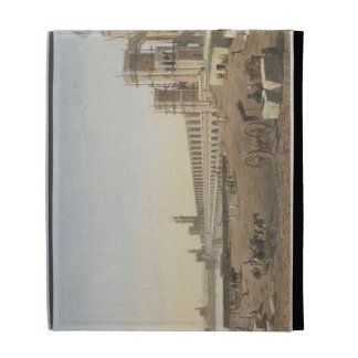 The Dam across the Nile, the building of the Aswan iPad Case
