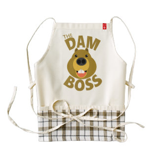 The Dam Boss Zazzle HEART Apron
