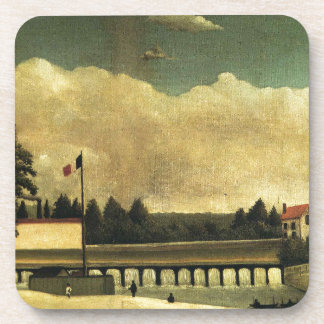 The Dam by Henri Rousseau Coaster