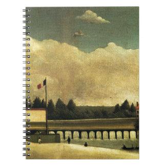 The Dam by Henri Rousseau Notebook
