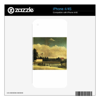 The Dam by Henri Rousseau Skins For iPhone 4S