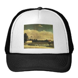 The Dam by Henri Rousseau Trucker Hat