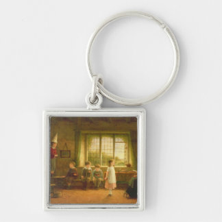 The Dame's School, s.and d. 1899 Keychain