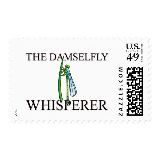 The Damselfly Whisperer Stamp