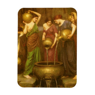 The Danaides by Waterhouse, Vintage Victorian Art Magnets