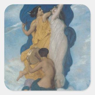 The Dance, 1856 Square Sticker