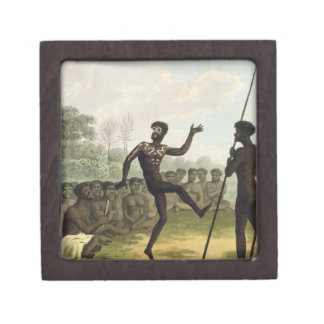 The Dance, aborigines from New South Wales engrave Gift Box