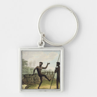 The Dance, aborigines from New South Wales engrave Key Chains