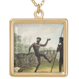 The Dance, aborigines from New South Wales engrave Pendants