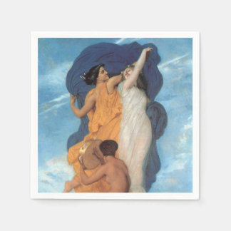 The Dance by William-Adolphe Bouguereau Napkin