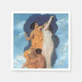 The Dance by William-Adolphe Bouguereau Paper Napkin