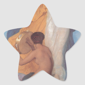 The Dance by William-Adolphe Bouguereau Star Sticker
