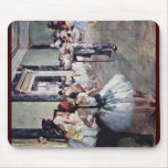 The Dance Class By Edgar Degas Mouse Pad