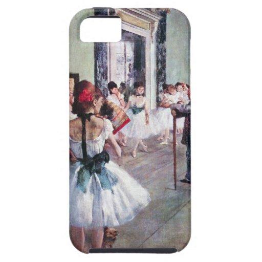 The Dance Class by Edgar Degas, Vintage Ballet Art iPhone SE/5/5s Case