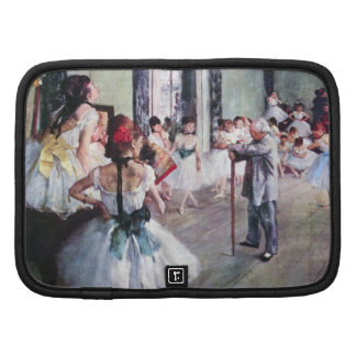 The Dance Class by Edgar Degas, Vintage Ballet Planners