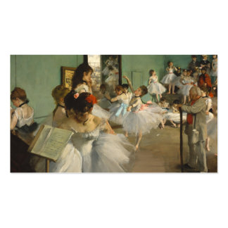 The Dance Class. Edgar Degas Double-Sided Standard Business Cards (Pack Of 100)