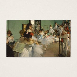 The Dance Class. Edgar Degas Business Card