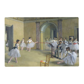 The Dance Foyer at the Opera Laminated Placemat
