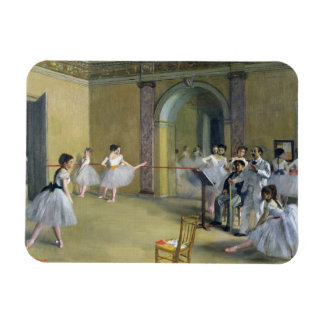 The Dance Foyer at the Opera Rectangle Magnet