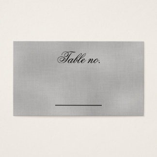 The Dance Gothic Wedding  Reception Table Number Business Card