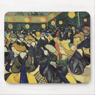 The Dance Hall at Arles, 1888 Mouse Pad