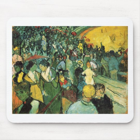 The Dance Hall in Arles Mouse Pad