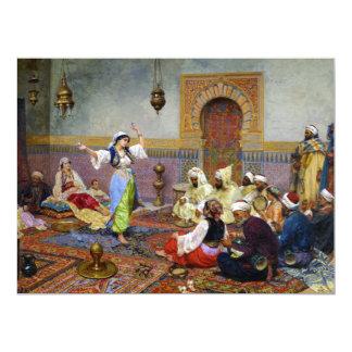 The Dance (harem girl) ~ 6.5x8.75 Paper Invitation Card
