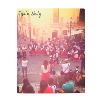 The Dance in Cefalu' Sicily