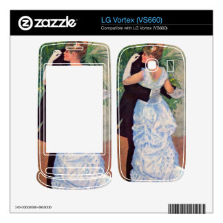 The dance in the city by Pierre Renoir Decal For The LG Vortex