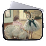 The Dance Lesson, c.1879 (oil on canvas) Laptop Computer Sleeve