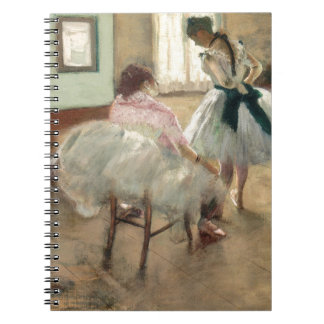The Dance Lesson, c.1879 (oil on canvas) Spiral Note Book