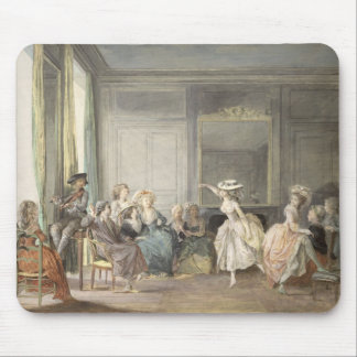 The Dance Lesson Mouse Pad