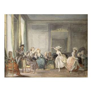 The Dance Lesson Postcard
